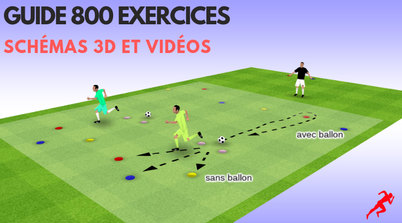Préparation physique en football: guide de 800 exercices