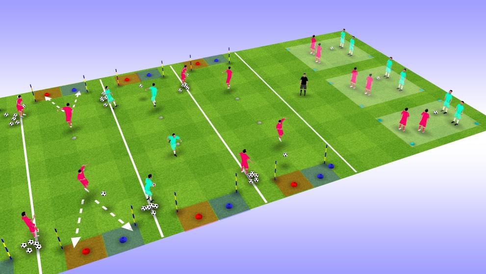 12 ejercicios intermitentes de fuerza en el fútbol