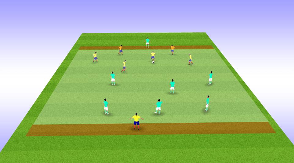 Juegos reducidos en fútbol con balón